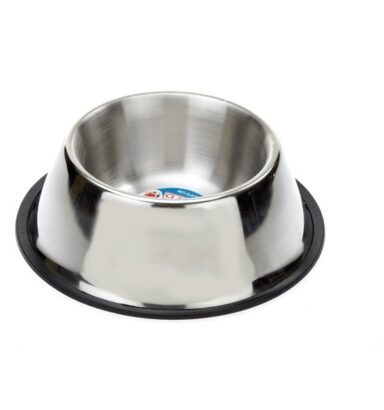 Spaniel Stainless Steel Dish 850ml
