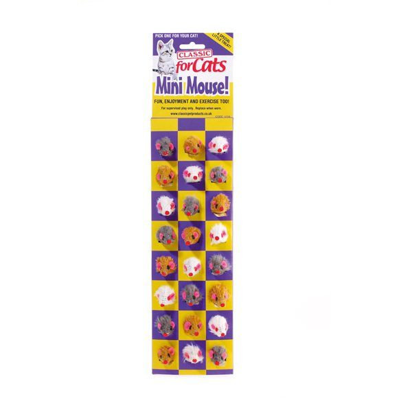 Furry Mini-Mouse    24pcs