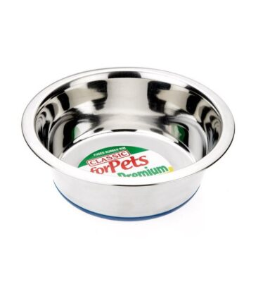 Non-Slip Steel Dish 1600ml