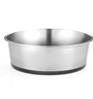 Heavy Guage Stainless Steel Dish 1950ml