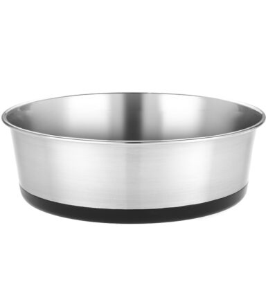 Heavy Guage Stainless Steel Dish 2700ml