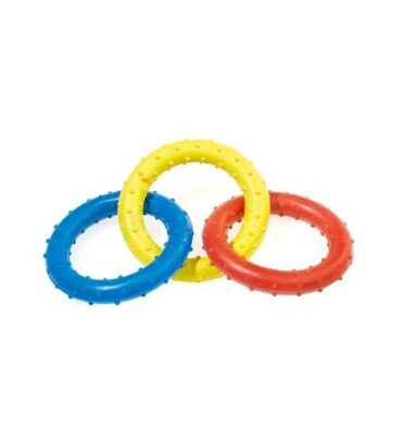Triple Ring Rubber Tug