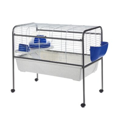 Tom Wide Bar Cage with Built-in Stand