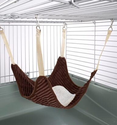 Plain Hammock with Fleece Center: Luxury Chocolate