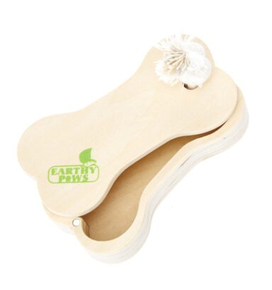 Earthy Pawz Wooden Treat Toy