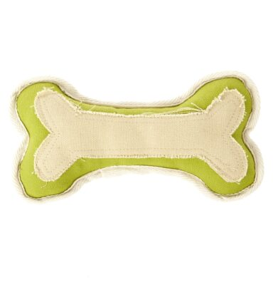 Earthy Pawz Canvas Bone Toy
