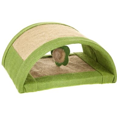 Earthy Pawz Jute Fabric Scratcher