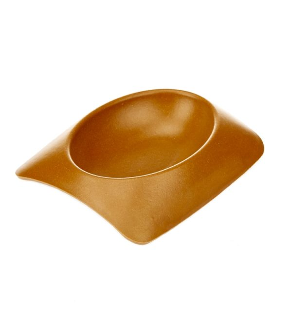 Earthy Pawz Bamboo Fibre Bowl - Small - TERRACOTTA