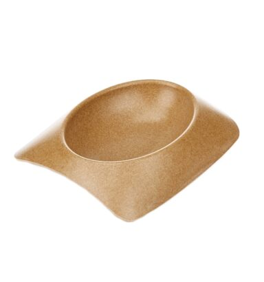 Earthy Pawz Bamboo Fibre Bowl - Medium - MOCHA