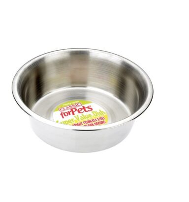 Value Stainless Steel Dish 2800ml