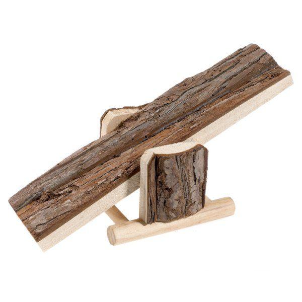 Natural Wood See Saw