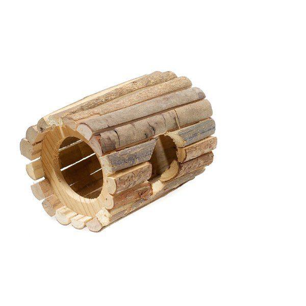 Wooden Tube House