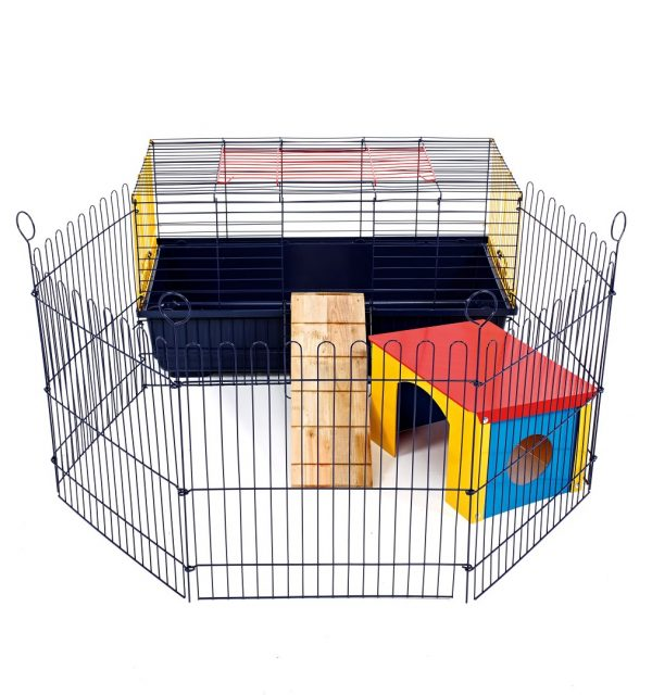 Timmy Wide Bar Cage