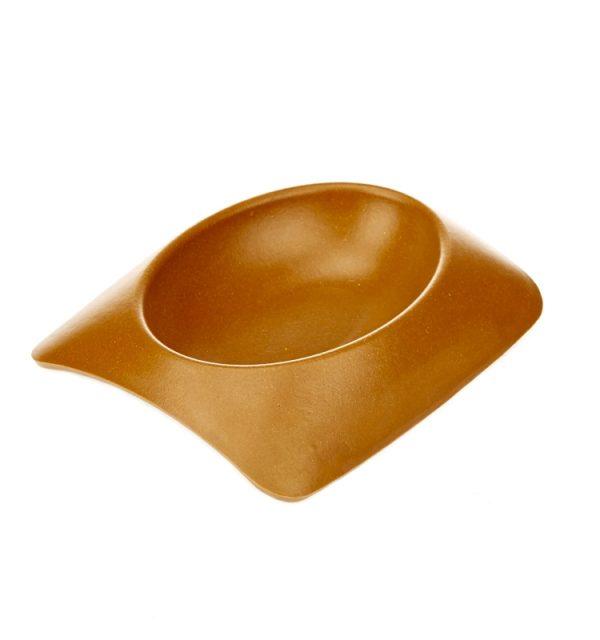 Earthy Pawz Bamboo Fibre Bowl - Medium - TERRACOTTA